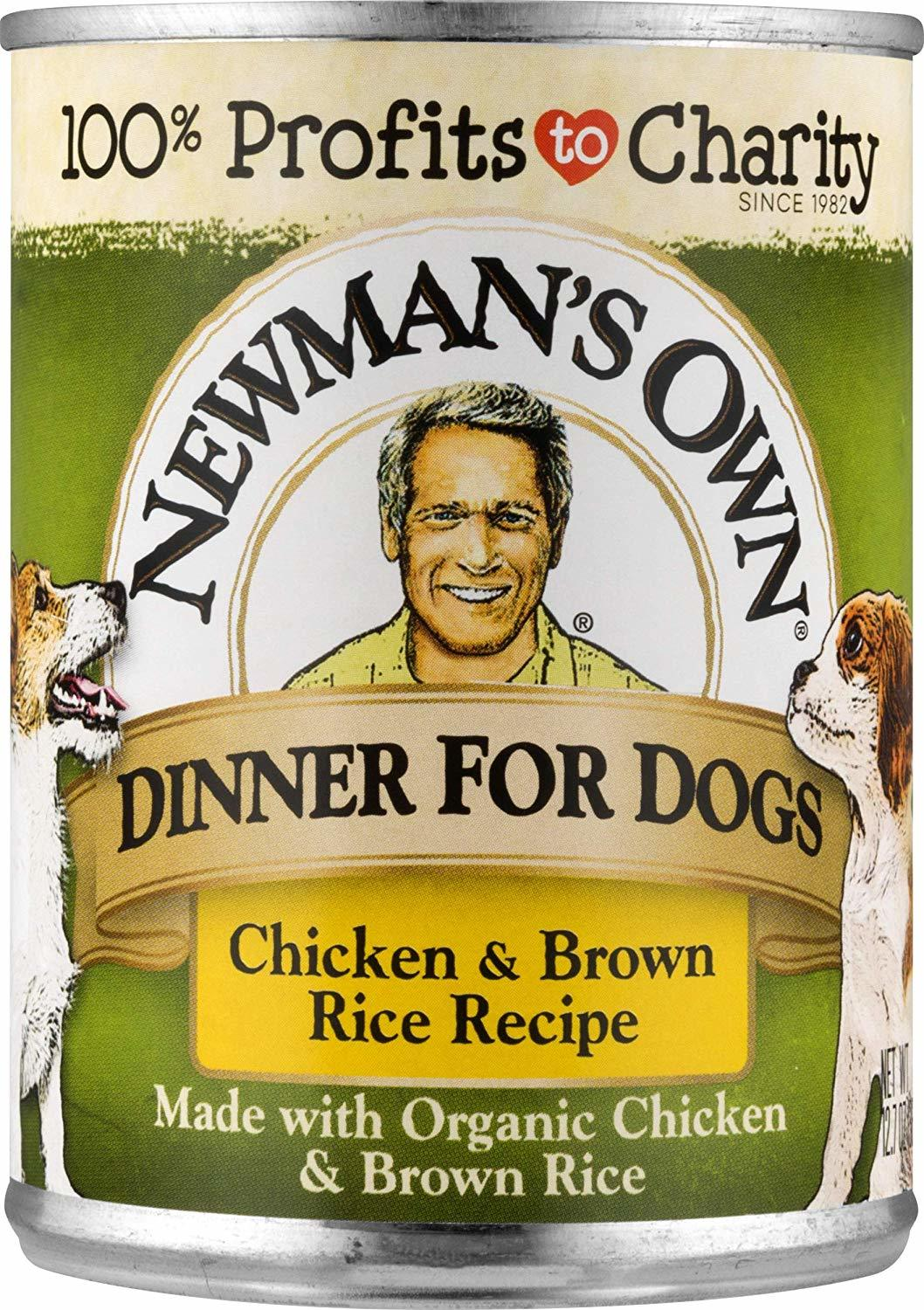 Dogs organic food Newman's Own